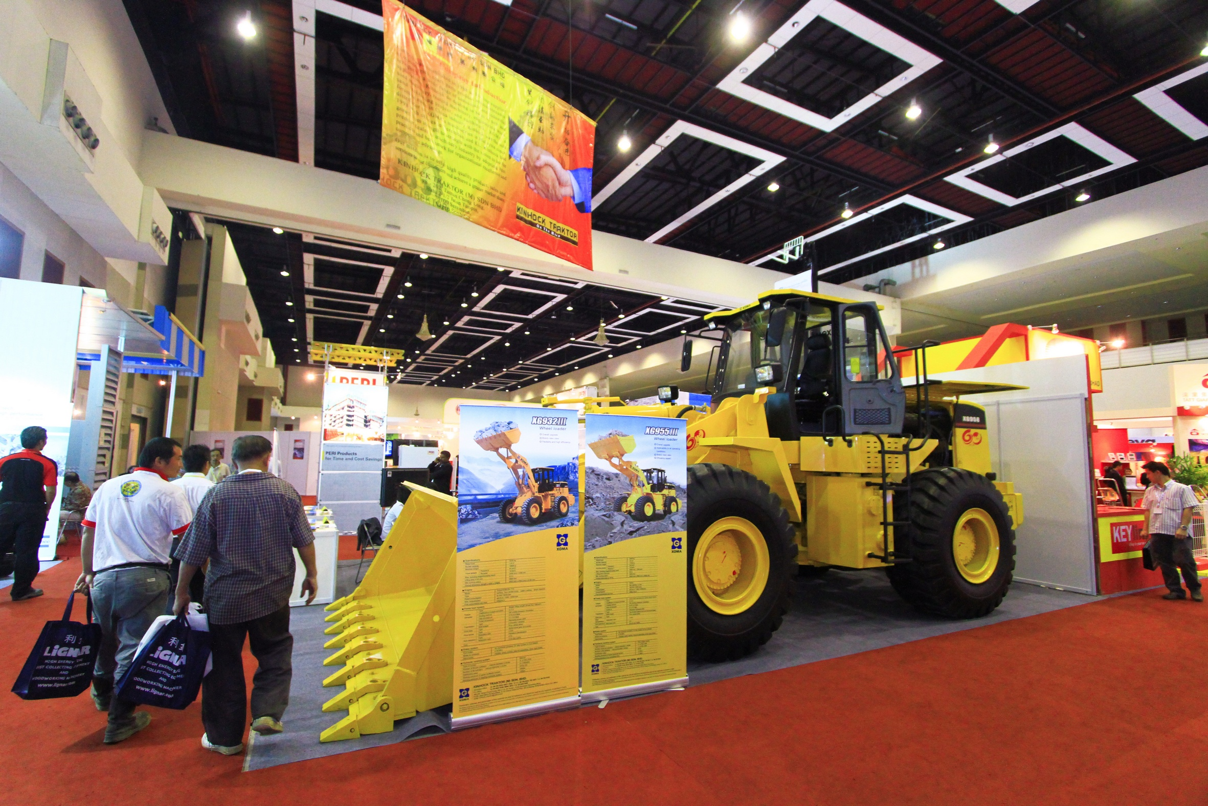 Buildtech Malaysia is the Largest Exhibition for Construction Machines and Equipments