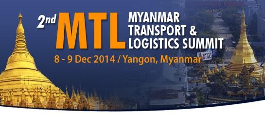 Myanmar Transport & Logistics Summit in December 2014